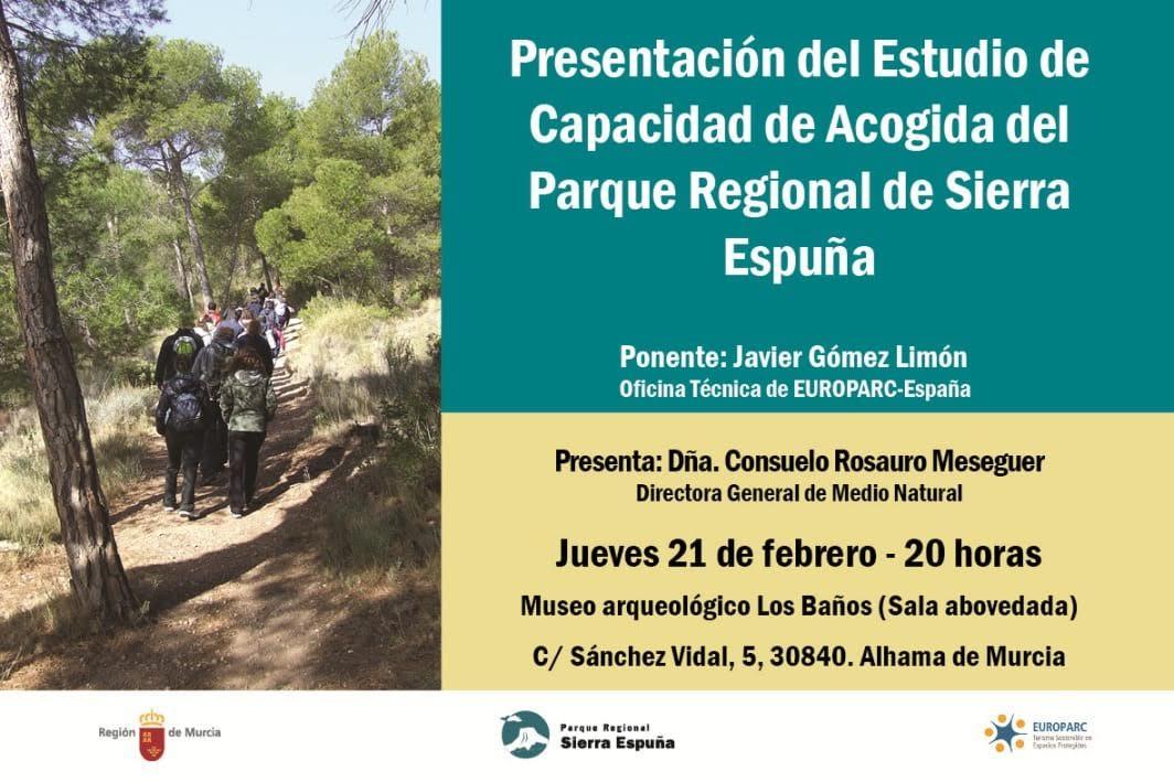 Estudio: Capacidad de Acogida del PR de Sierra Espuña, con Europarc España y la CARM