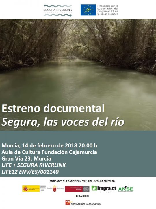 Documental sobre el Segura, con ANSE