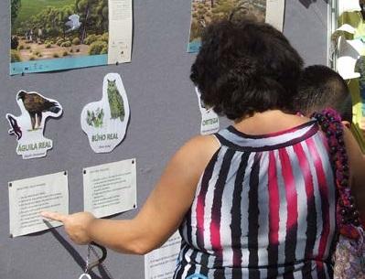 Expo sobre las aves de Sierra Espuña, con la CARM.