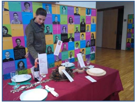 Expo: 'Receta para una comida de Navidad sostenible' en el Centro de Visitantes El Valle