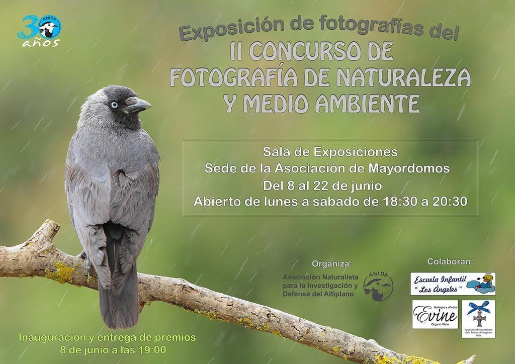 Expo de fotos de naturaleza Anida Yecla
