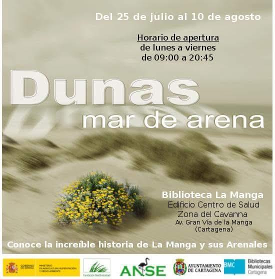 Expo 'Dunas, un mar de arena', de ANSE