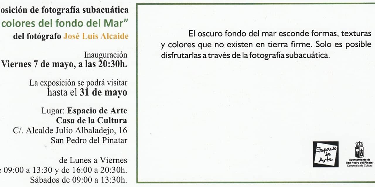Expo 'Los colores del fondo del mar', de José Luis Alcaide Sanjurjo