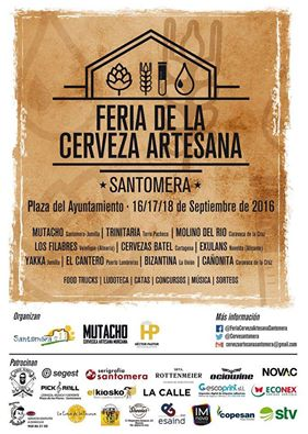 Feria de Cerveza Artesana de Santomera.