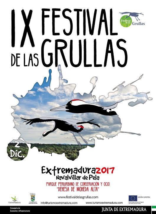 IX Festival de las Grullas de Extremadura