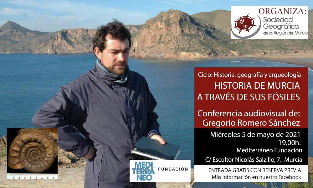 Historia de Murcia a través de sus fósiles, con la SGRM