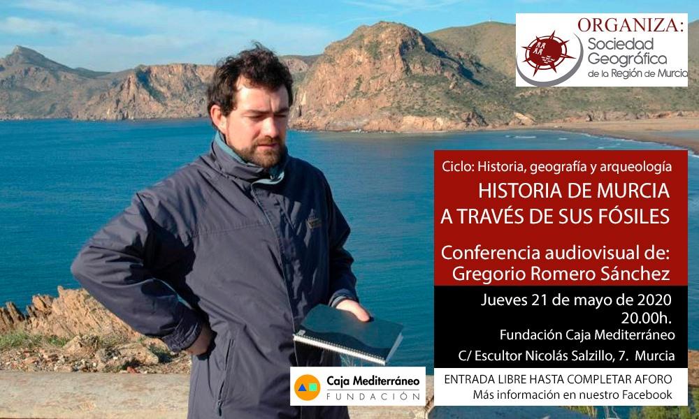 Charla sobre los fósiles de Murcia, con la SGRM