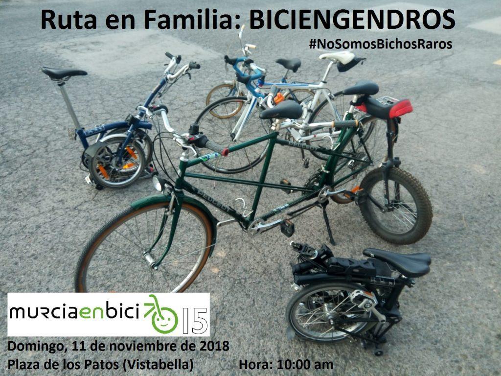 Ruta en Familia: Biciengendros, con Murcia en Bici