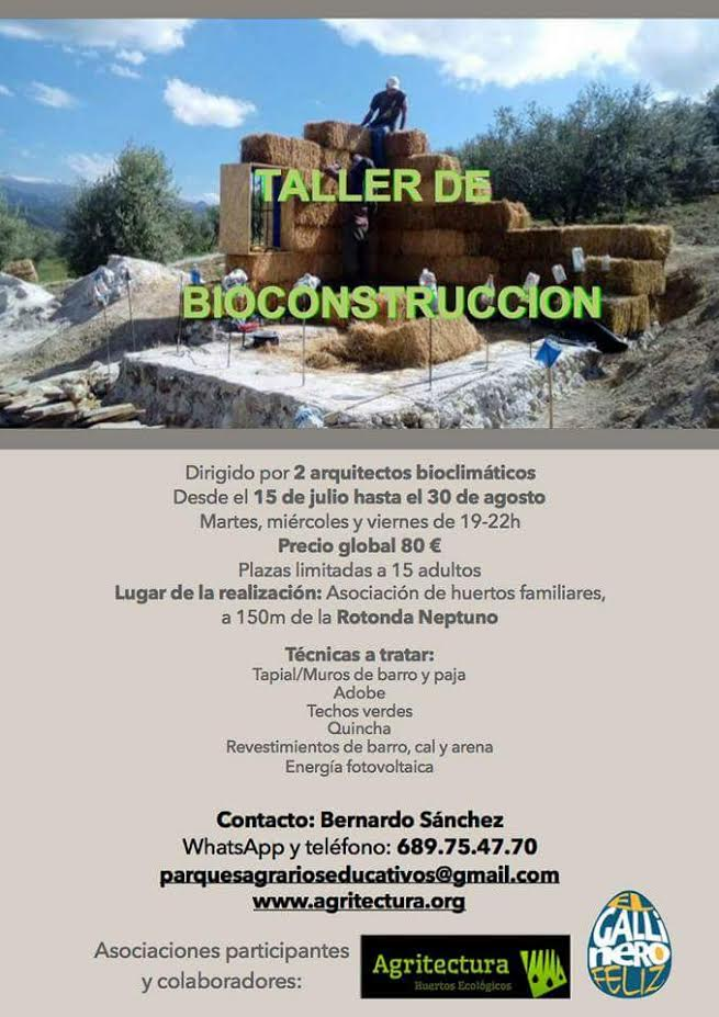 Taller de bioconstrucción, con Agritectura