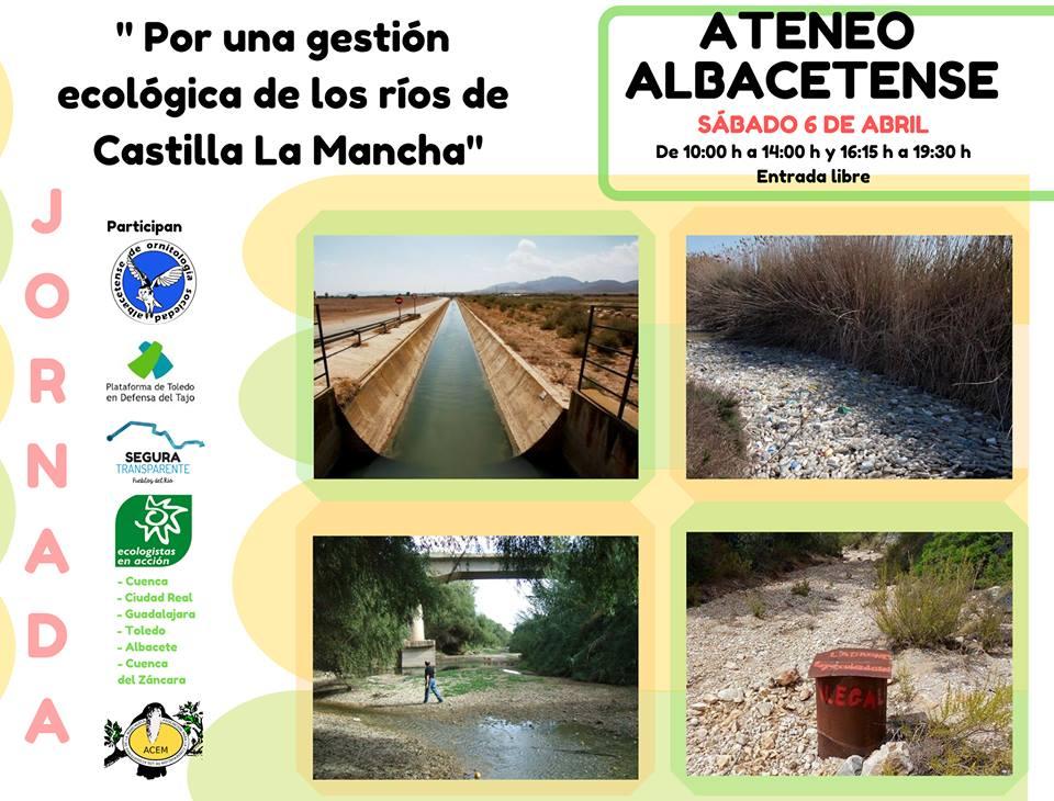 Jornada: 'Por una gestión ecológica de los ríos de Castilla la Mancha', con EEA CLM