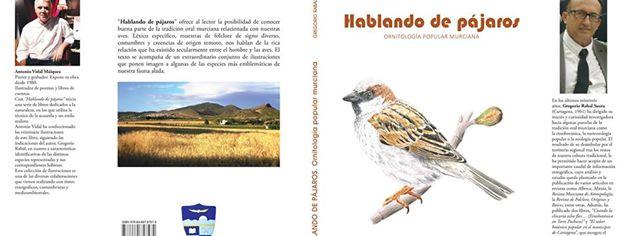 Presentación del libro 'hablando de pájaros', en la Biblioteca Regional de Murcia