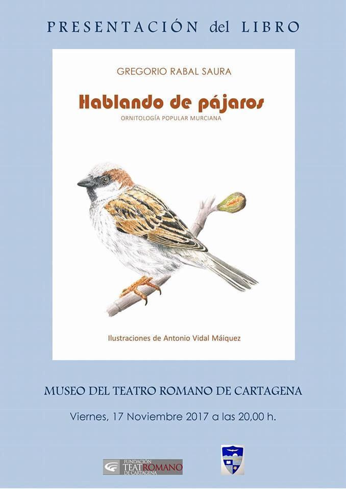 Libro 'Hablando con pájaros', de Gregorio Rabal