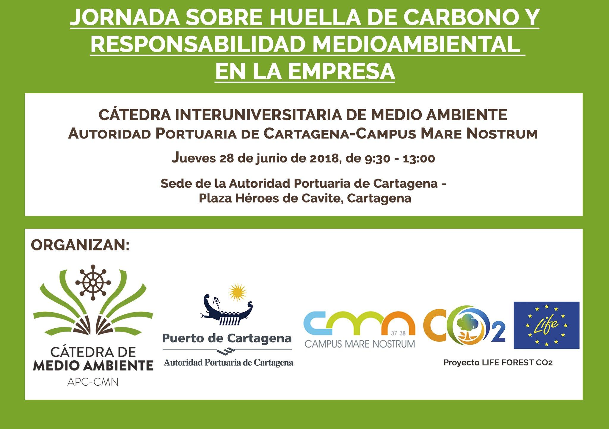 Jornada sobre Huella de Carbono para empresas, con la Cátedra de Medio Ambiente APC-CMN