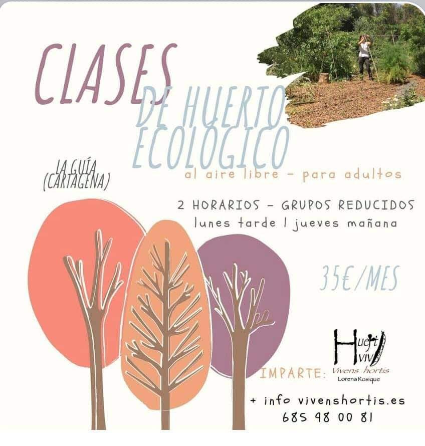 Clases de Huerto Ecológico, con Vivens Hortis