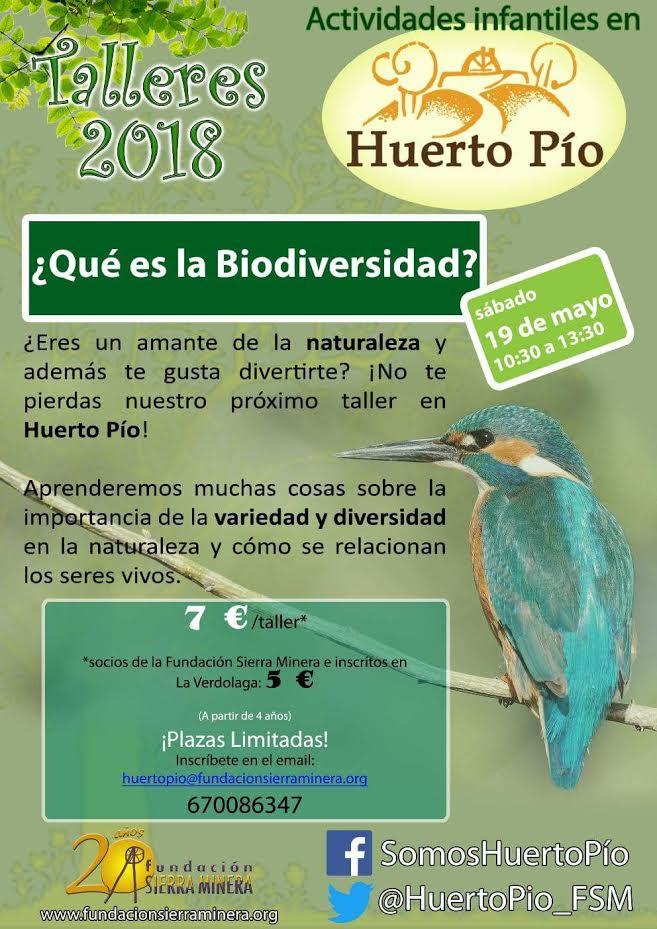 '¿Qué es la biodiversidad?', con Huerto Pío