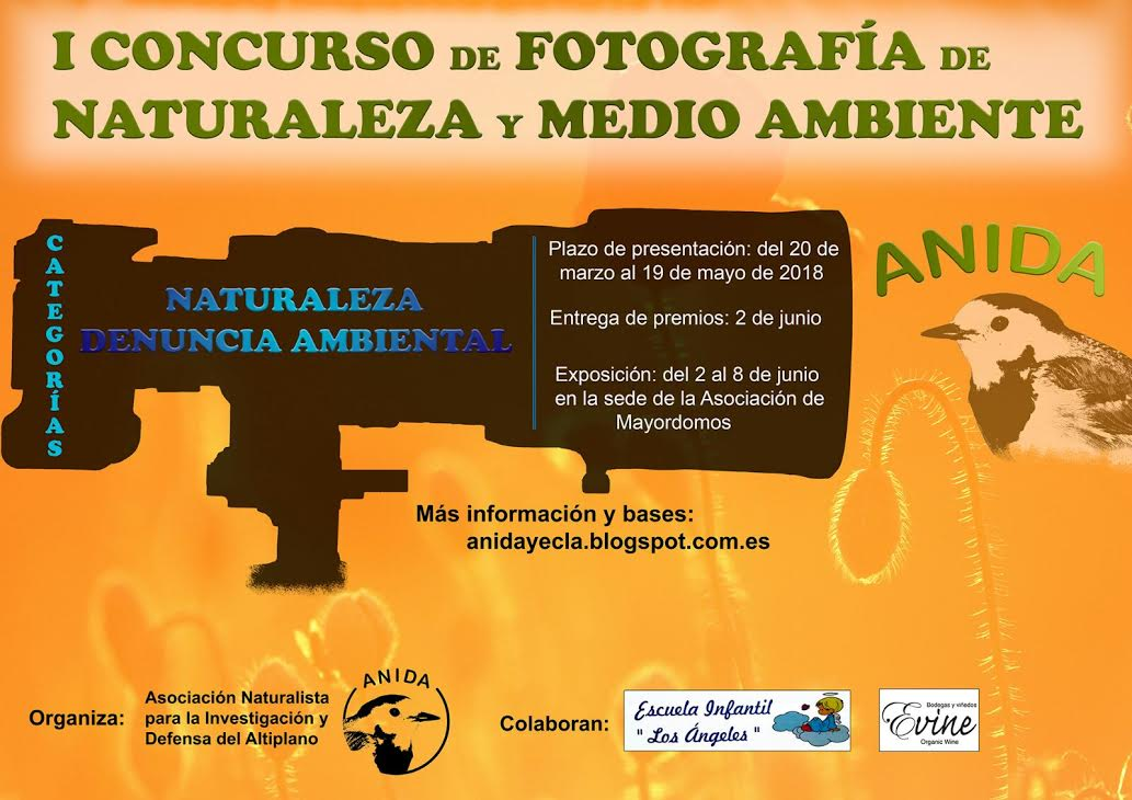 I Concurso fotográfico de Naturaleza y Medio Ambiente ANIDA