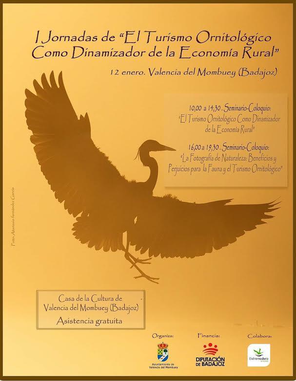 I Congreso Nacional de Turismo Ornitológico en Valencia del Mombuey. Programa