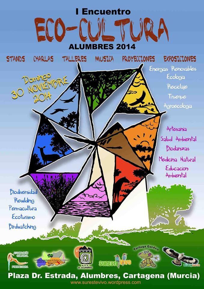 Cartel del I Encuentro Eco-cultural Sureste