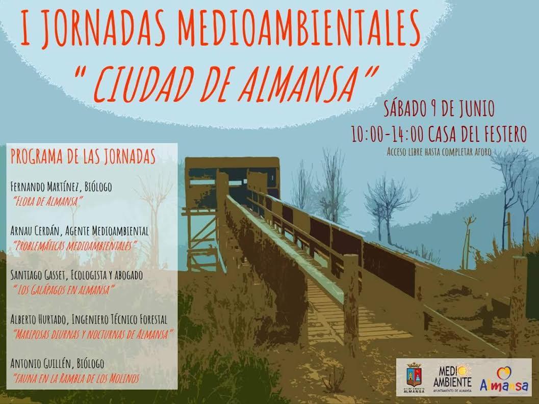 I Jornadas medioambientales Ciudad de Almansa