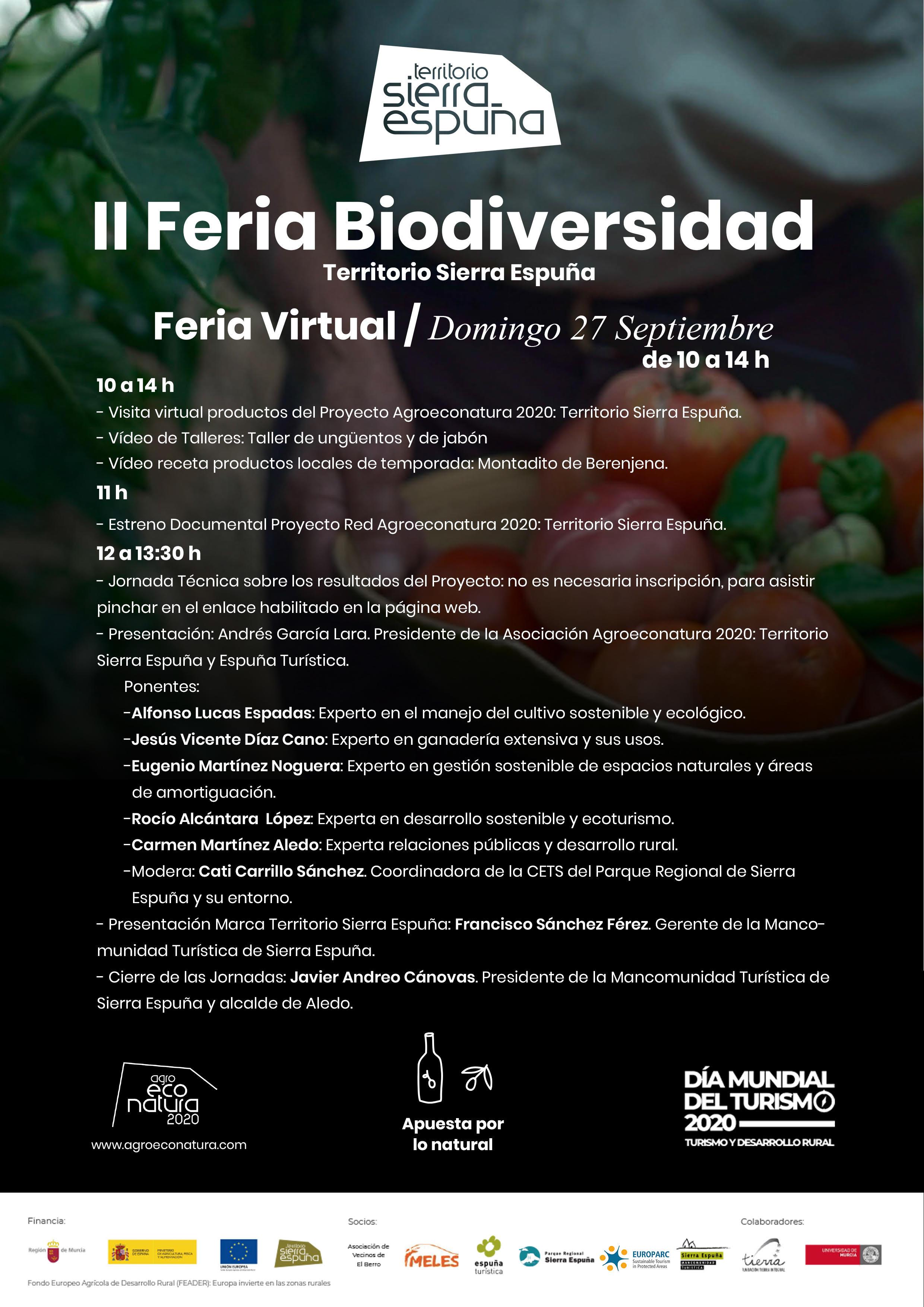 II Feria Biodiversidad Territorio Sierra Espuña