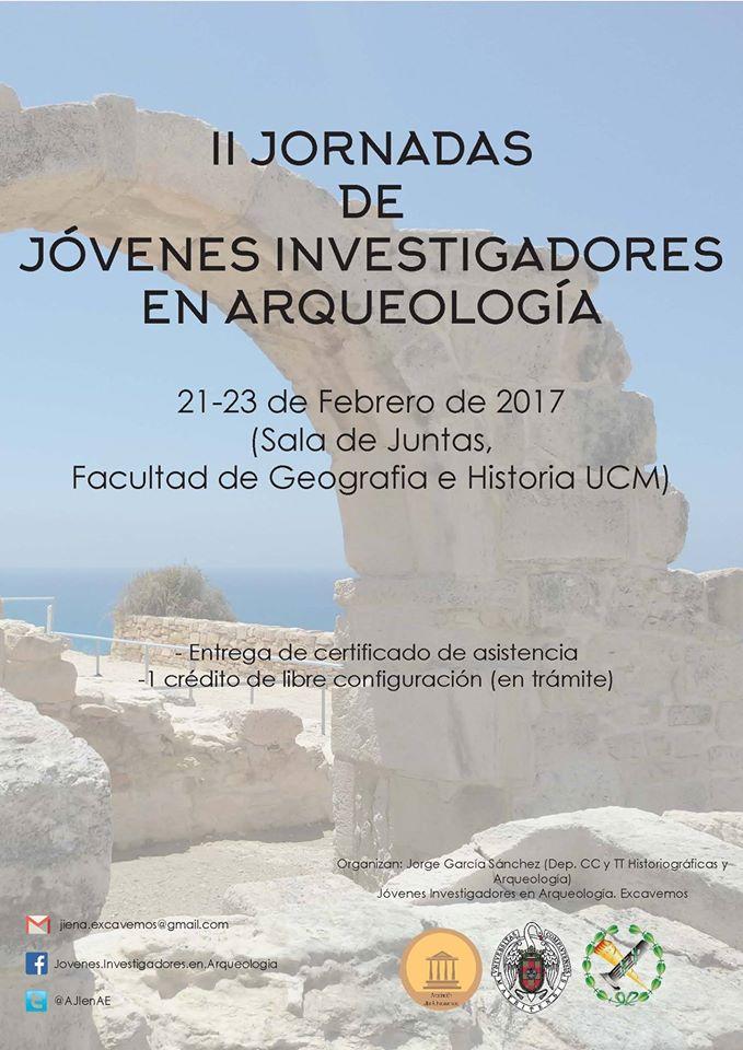 II Jornadas de Jóvenes Investigadores en Arqueología, con Jóvenes Investigadores en Arqueología