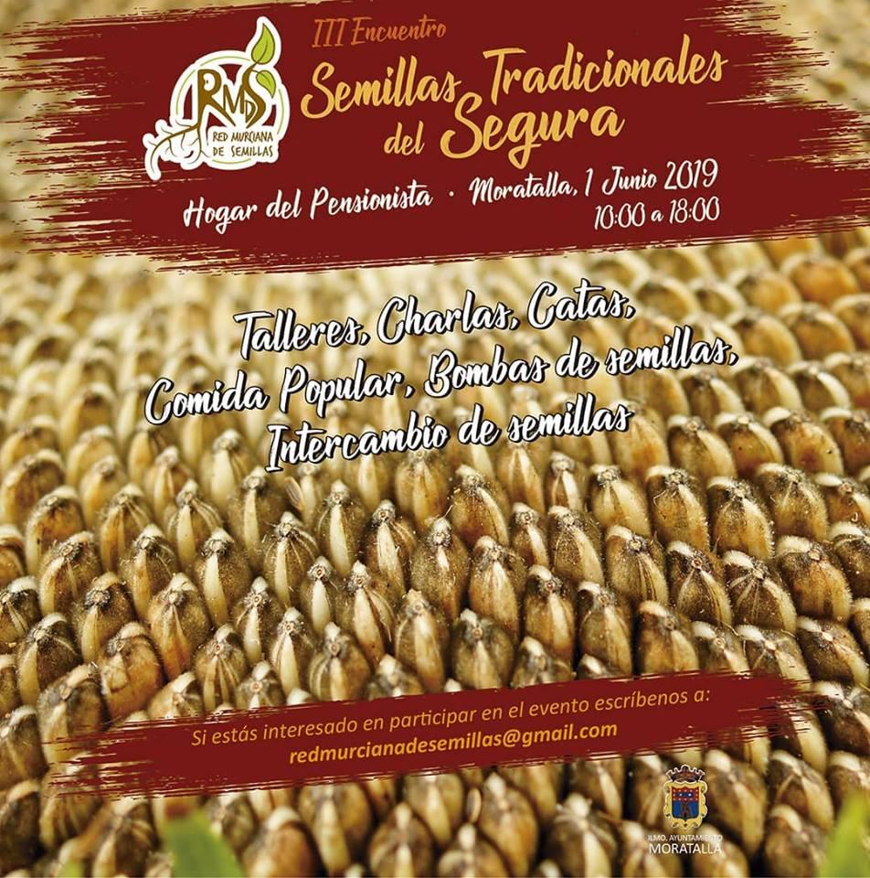 lll Encuentro de Semillas Tradicionales del Segura, con Red Murciana de Semillas