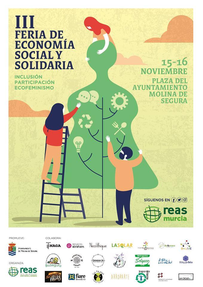 3ª Feria Regional de Economía Social Solidaria, con REAS Murcia