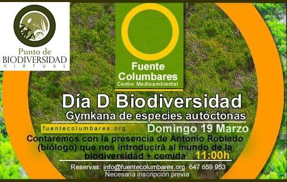 III Testing en el Punto BV Fuente de Columbares, con Biodiversidad Virtual