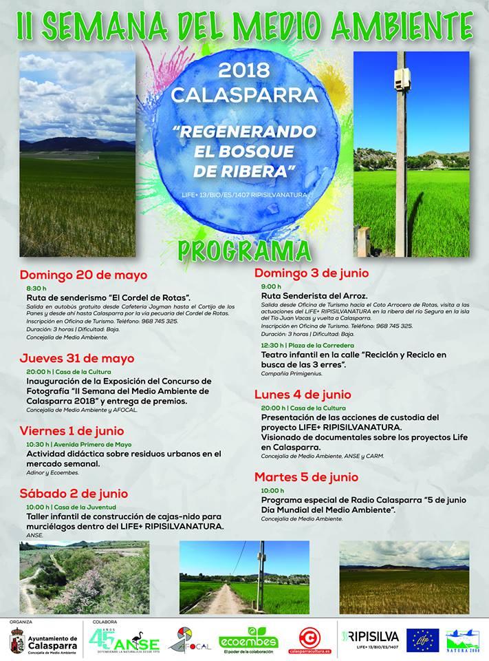 Il Semana del Medio Ambiente de Calasparra, con el Ayto. de Calasparra