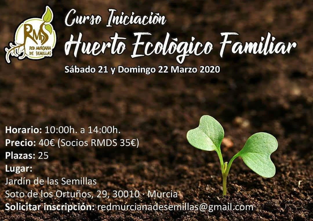Iniciación al Huerto Ecológico Familiar, con la RMDS