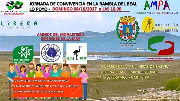 Jornada de Convivencia por el Mar Menor, con varias asociaciones