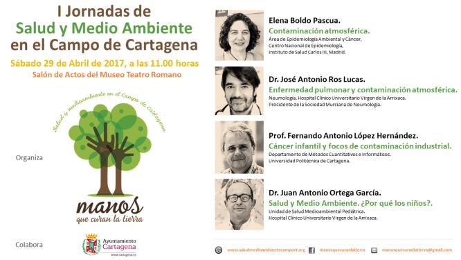 I Jornadas de salud y medio ambiente en el Campo de Cartagena, con Manos que Curan la Tierra