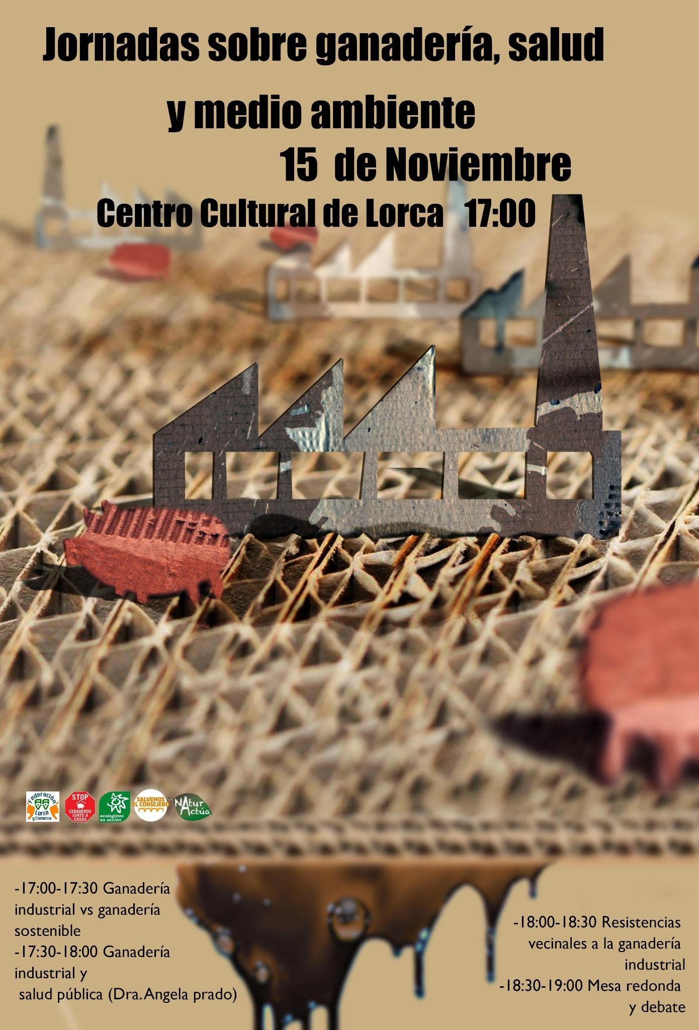 Jornada sobre ganadería, salud y medio ambiente, con la Federación de Asociaciones de Vecinos de Lorca y Comarca