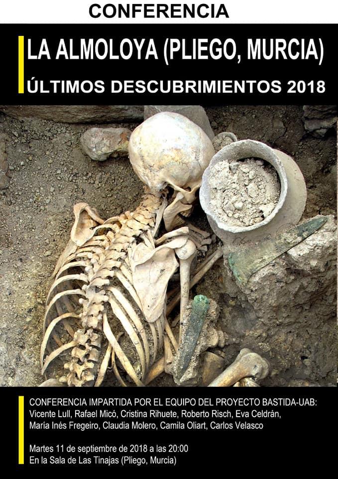 Los últimos descubrimientos de La Almoloya 2018, con el Proyecto Bastida - Universidad Autónoma de Barcelona