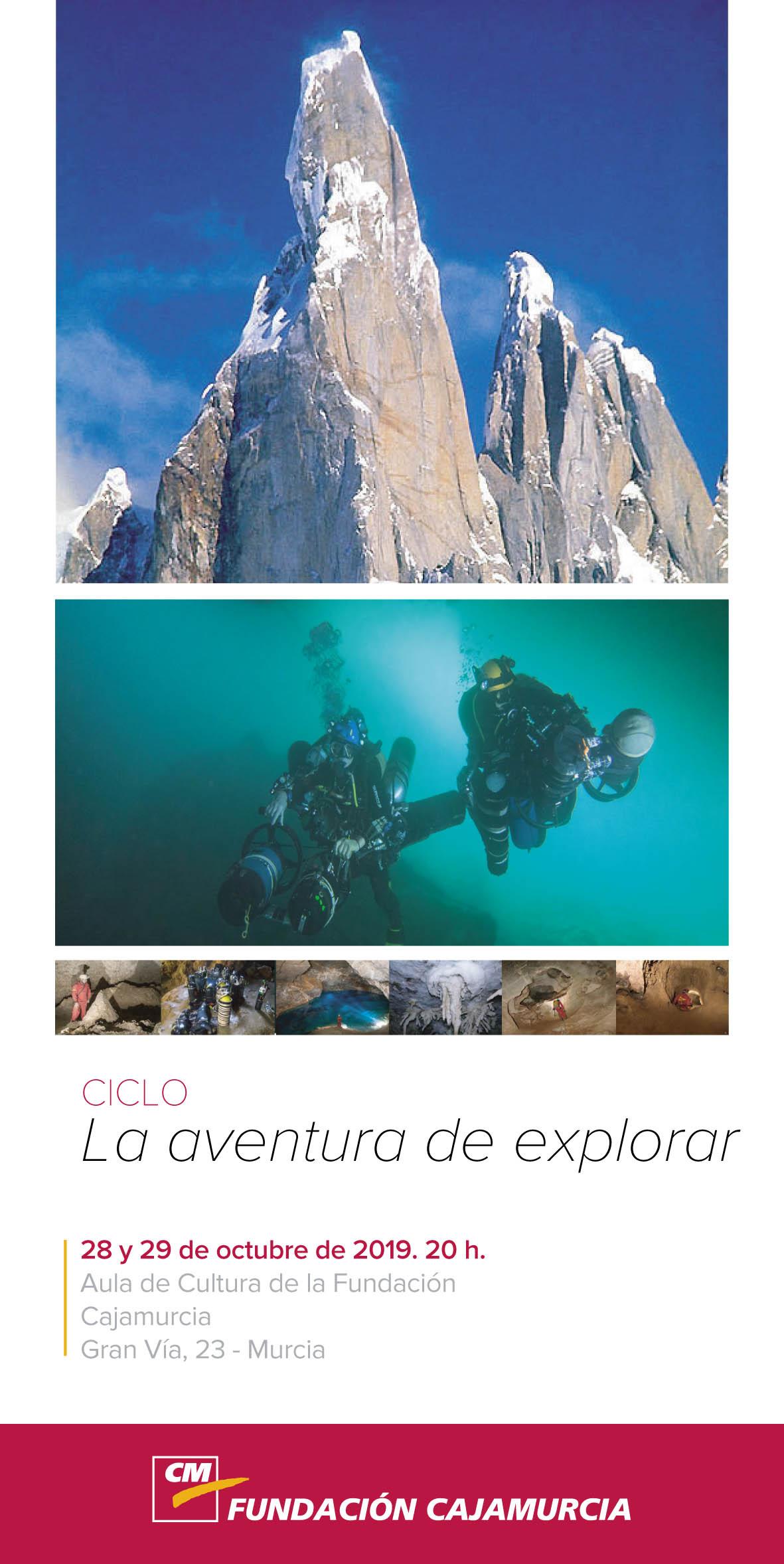 La aventura de explorar, con Fundación Cajamurcia