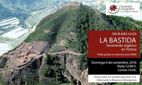 Visita al yacimiento de La Bastida, con la SGRM.