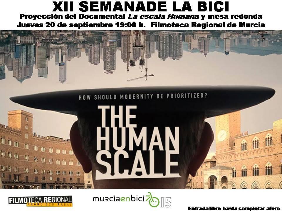 Cartel del documental 'La escala humana'