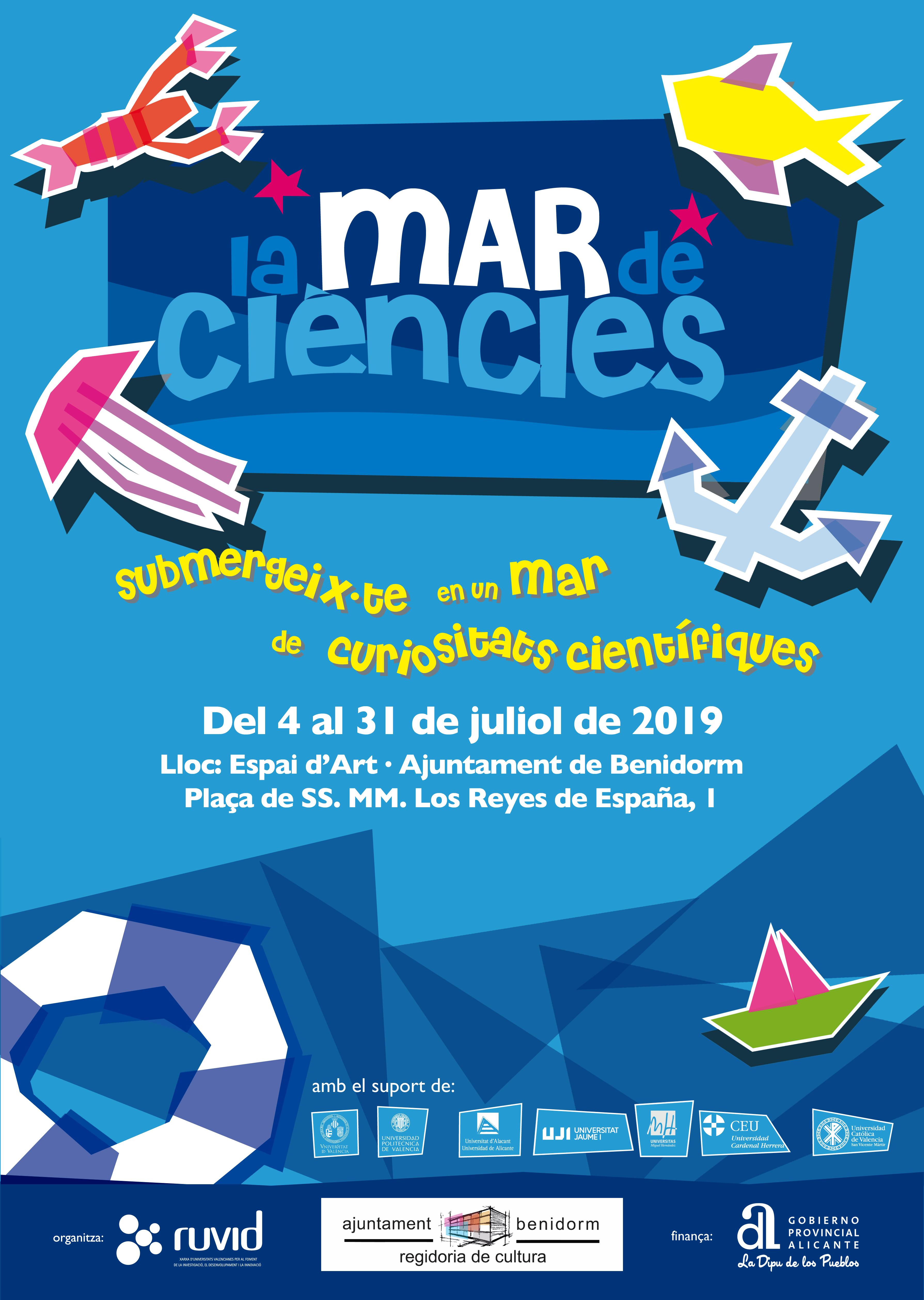 Expo 'La mar de ciències', con la Ruvid