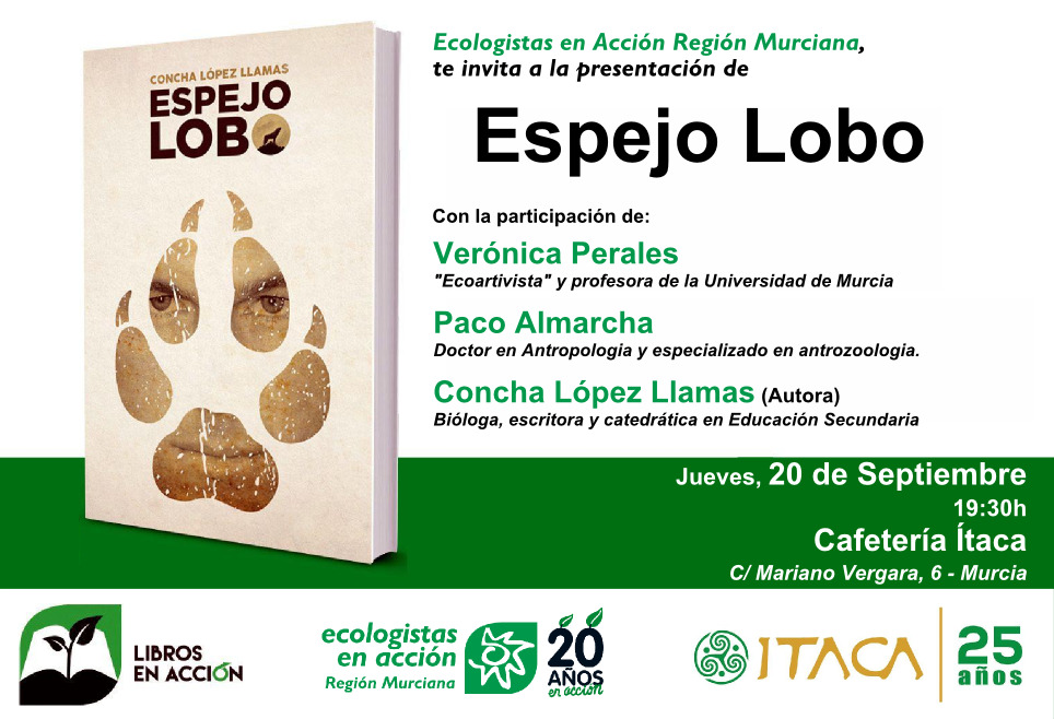 Libro Espejo Lobo, de Concha López Llamas
