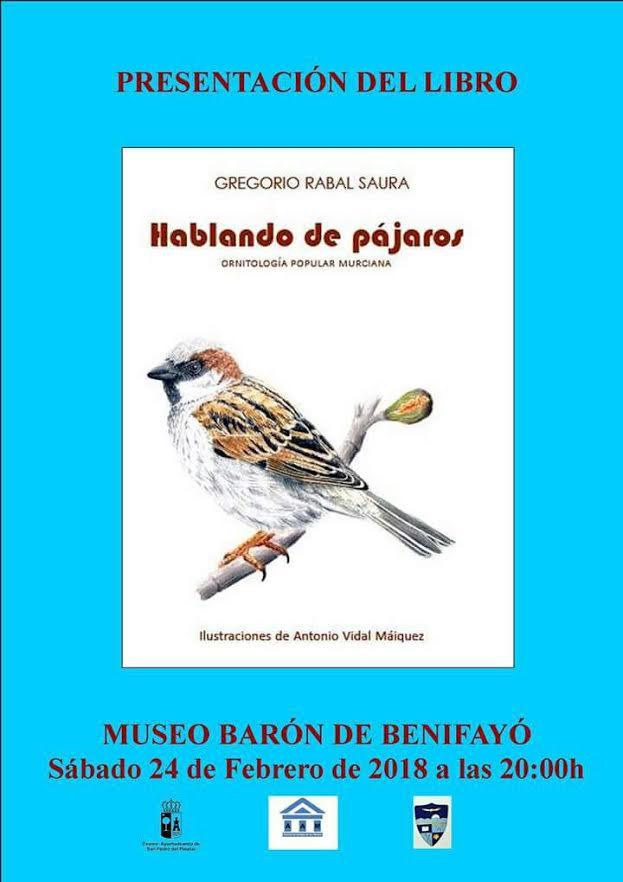 Presentación del libro 'Hablando de pájaros'