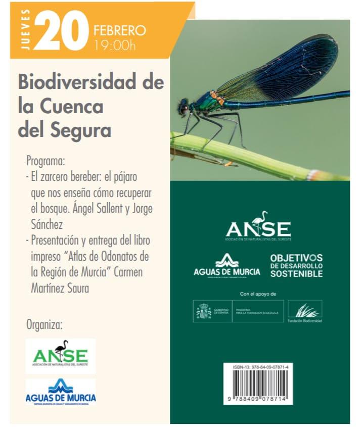 Presentación de dos libros de naturaleza, con ANSE