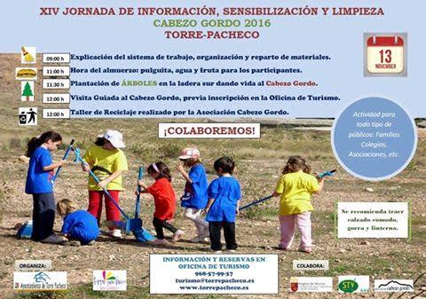 XIV Jornada de Información, Sensibilización y Limpieza del Cabezo Gordo