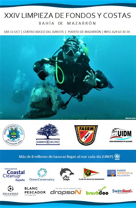 XXIV Limpieza de Fondos y Costas Bahía de Mazarrón