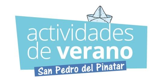Actividades de verano del Ayto. de San Pedro del Pinatar