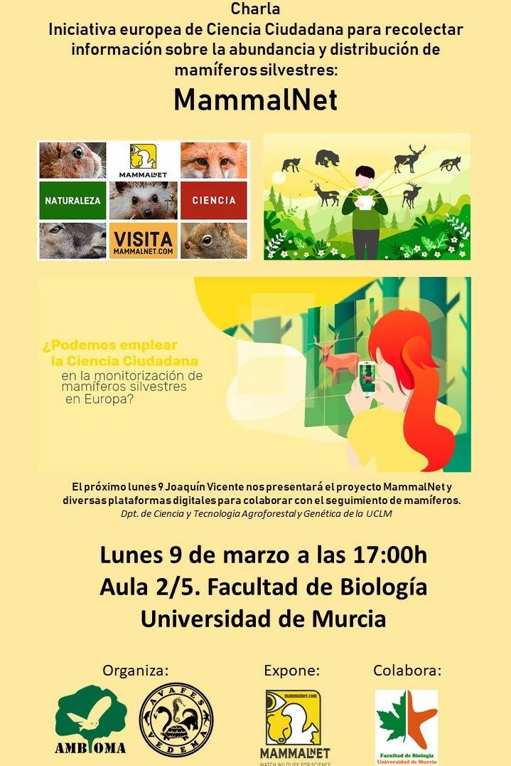 Ciencia ciudadana y mamíferos: MammalNet, con la UMU