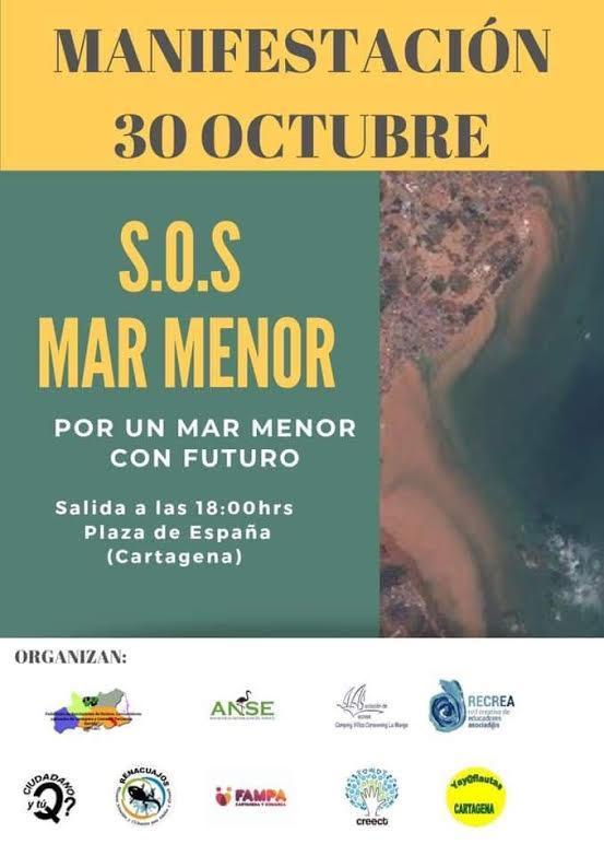 Manifestación 'SOS Mar Menor'