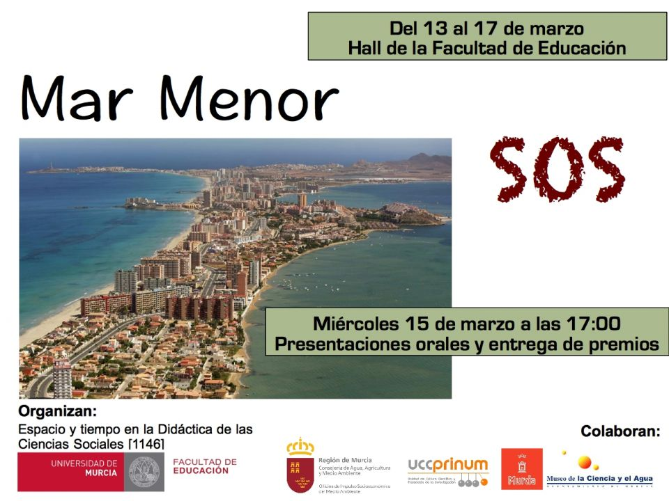 Expo 'Mar Menor SOS', con la UMU