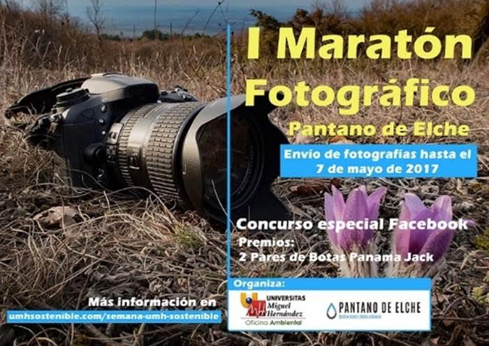 I Maratón Fotográfico del Pantano de Elche, con la UMH