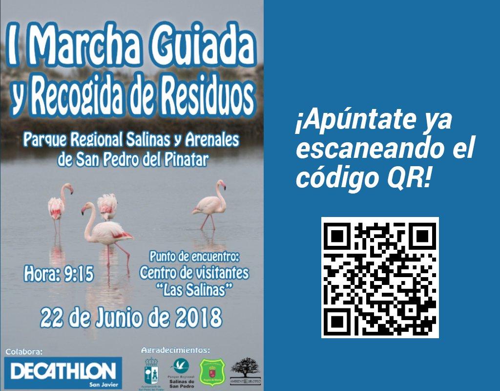 I Marcha medioambiental y recogida de residuos, con Decathlon San Javier