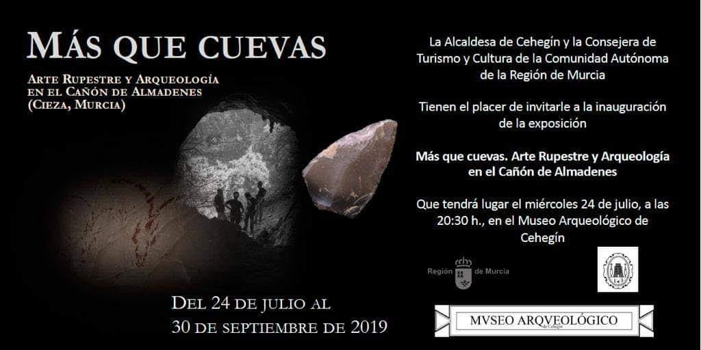 Expo 'Más que cuevas', con la CARM